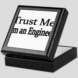 Trust Me. Im an Engineer Keepsake Box