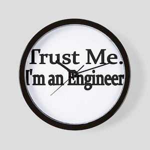 Trust Me. Im an Engineer Wall Clock