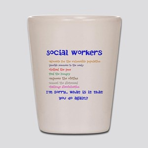 Social Work Shot Glass