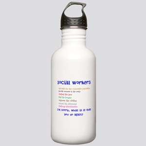 Social Work Water Bottle