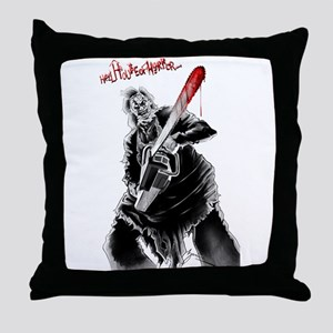 Hell House of Horror's Leatherface Throw Pillow