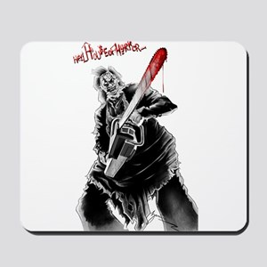 Hell House of Horror's Leatherface Mousepad