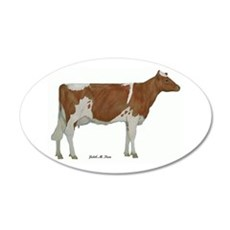 Guernsey Milk Cow Wall Decal