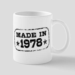 Made In 1978 Mug