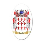 Bouffler 35x21 Oval Wall Decal