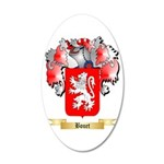 Bouet 20x12 Oval Wall Decal
