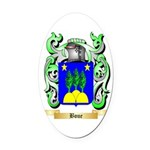 Boue Oval Car Magnet