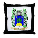Boue Throw Pillow