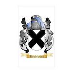 Boudewijns Sticker (Rectangle 50 pk)