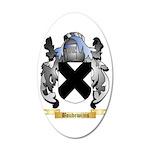 Boudewijns 35x21 Oval Wall Decal
