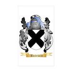 Boudewijn Sticker (Rectangle 50 pk)