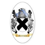 Boudewijn Sticker (Oval 10 pk)