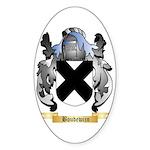 Boudewijn Sticker (Oval 50 pk)