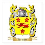 Boucher Square Car Magnet 3