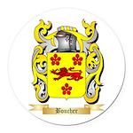Boucher Round Car Magnet