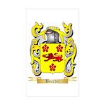 Boucher Sticker (Rectangle 50 pk)