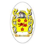 Boucher Sticker (Oval 50 pk)