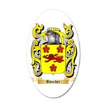 Boucher 35x21 Oval Wall Decal