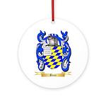 Bouc Ornament (Round)