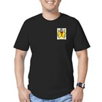 Bottomly Men's Fitted T-Shirt (dark)