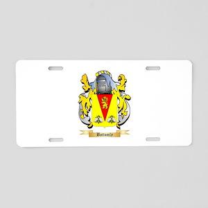 Bottomly Aluminum License Plate