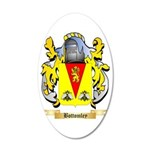 Bottomley 35x21 Oval Wall Decal