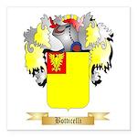 Botticelli Square Car Magnet 3