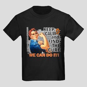 Rosie Keep Calm MS Kids Dark T-Shirt