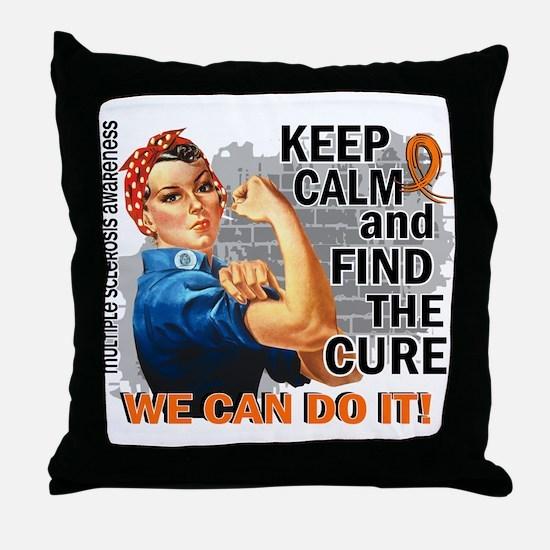 Rosie Keep Calm MS Throw Pillow