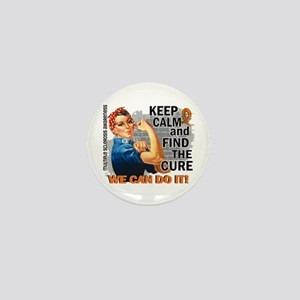 Rosie Keep Calm MS Mini Button