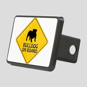 Bulldog On Board Rectangular Hitch Cover