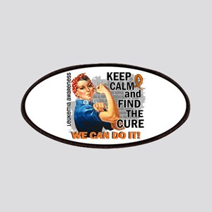 Rosie Keep Calm Leukemia Patches