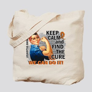 Rosie Keep Calm Leukemia Tote Bag