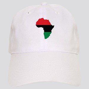 Red, Black and Green Africa Flag Cap