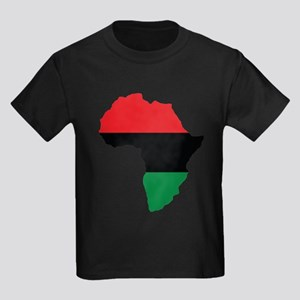 Red, Black and Green Africa Flag T-Shirt