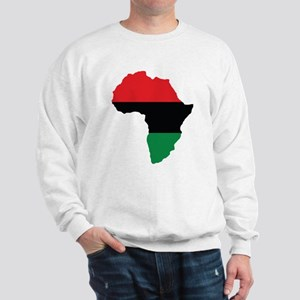 Red, Black and Green Africa Flag Jumper