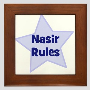 Nasir Rules Framed Tile