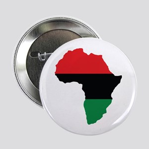 """Red, Black and Green Africa Flag 2.25"""" Button"""