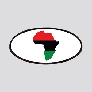 Red, Black and Green Africa Flag Patches