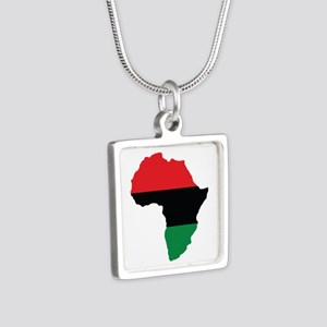 Red, Black and Green Africa Flag Necklaces