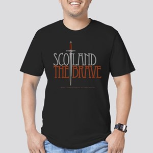The Brave Men's Fitted T-Shirt (dark)