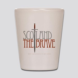 The Brave Shot Glass