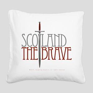 The Brave Square Canvas Pillow