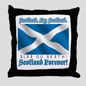 My Scotland Throw Pillow