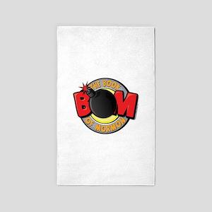 BOM - Book of Mormon 3'x5' Area Rug