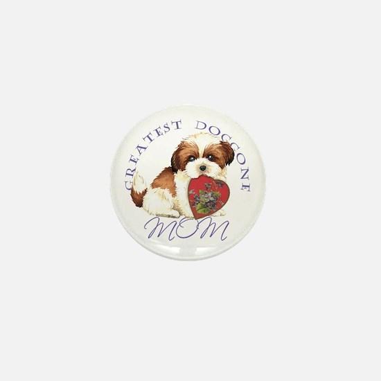 Shih Tzu Mom Mini Button
