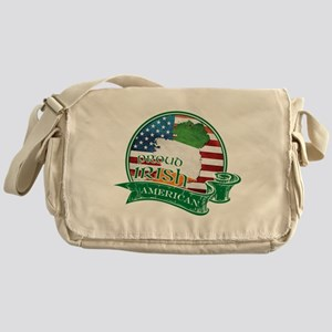 Proud Irish American Messenger Bag