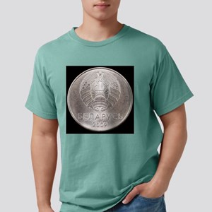 Belorussian one ruble co Mens Comfort Colors Shirt