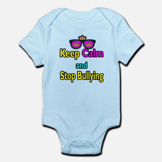 Crown Sunglasses Keep Calm And Stop Bullying Infan