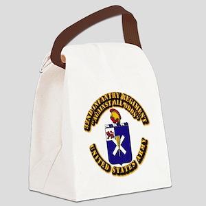COA - 32nd Infantry Regiment Canvas Lunch Bag